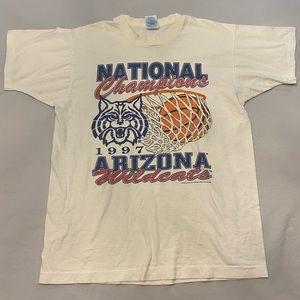NCAA Vintage 1997 Arizona Wildcats Champ T-Shirt